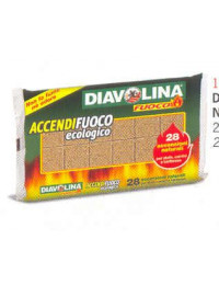 ACCENDIFUOCO DIAVOLINA ECOLOGICA FACCO GIUSEPPE